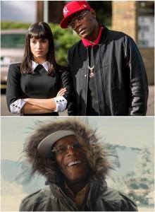 "Valentine and his female ""Odd Job"" named Gazelle"