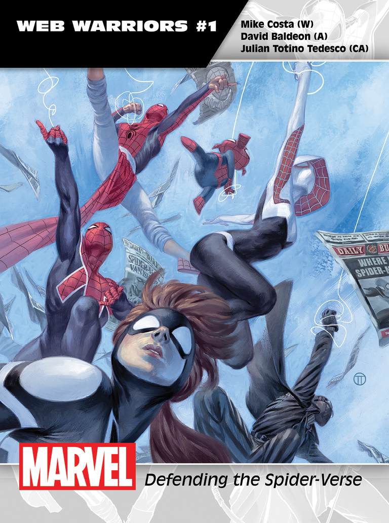 Marvel's Official All-New, All-Different Previews