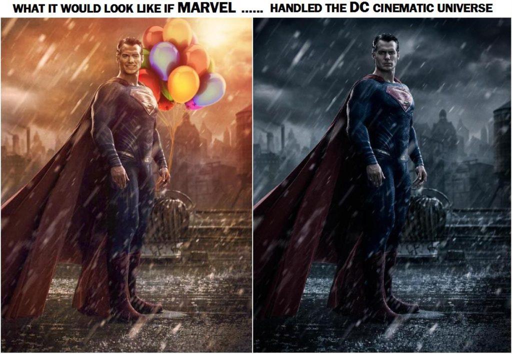 Movie Multiverse Marvel Vs Dc How Perception Makes All