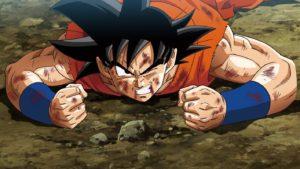 Goku's down! Tag in Vegeta!