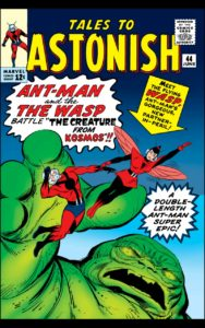 Wasp rescues Ant-Man