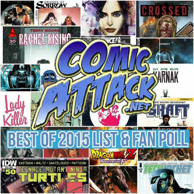 ComicAttack.net's Best of 2015 Comic List & Fan Poll!