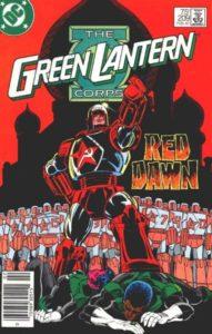Rocket Red Green_Lantern_Corps_Vol_1_209