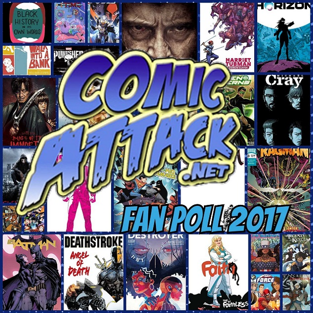 Comic Attack's Top 5 of 2017 Fan Poll!