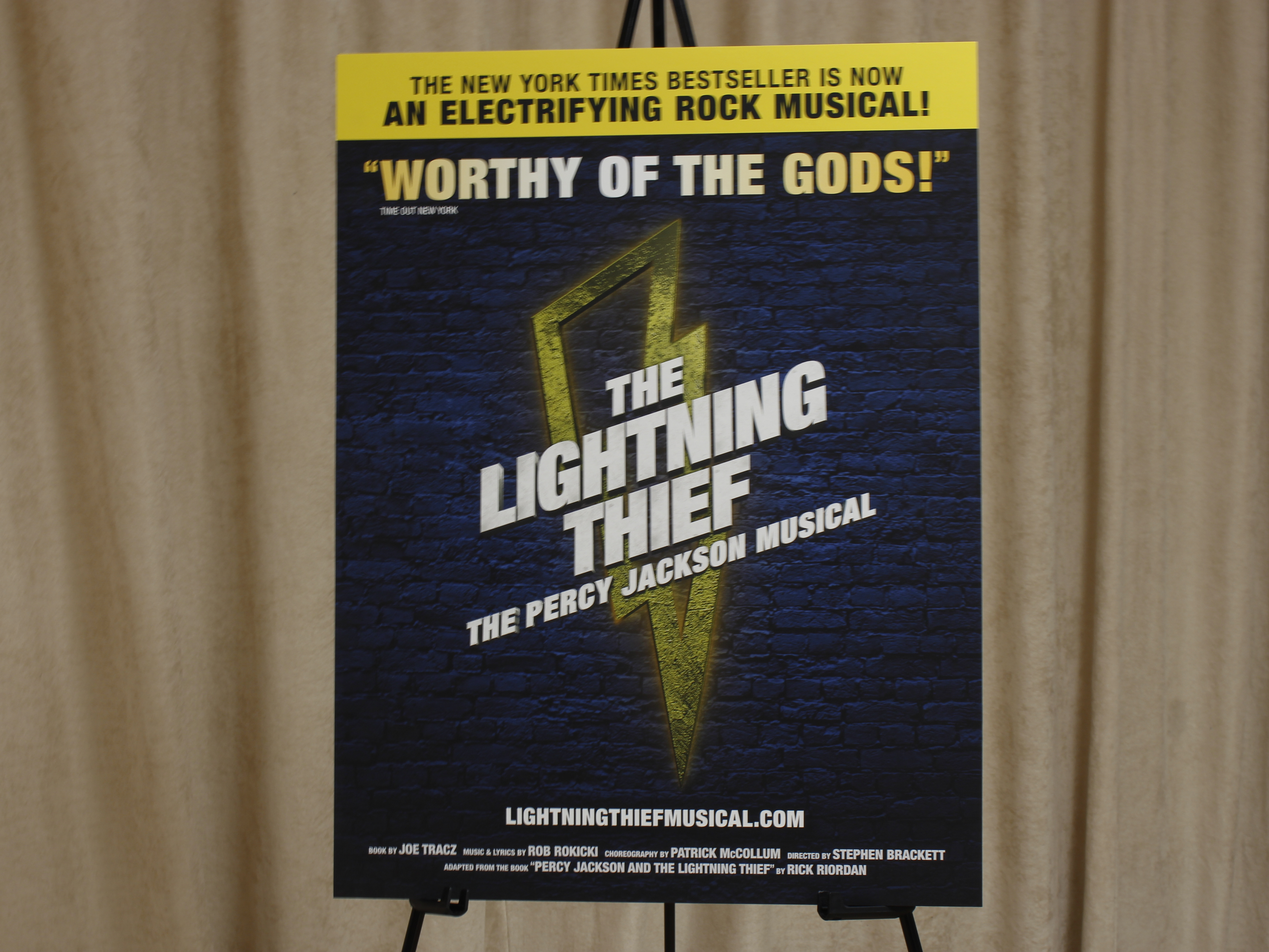 A Talk With The Cast of 'The Lightning Thief: The Percy Jackson Musical'