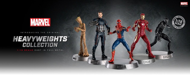 Gotta Have It!: Marvel Heavyweights Wave 2 Figurines